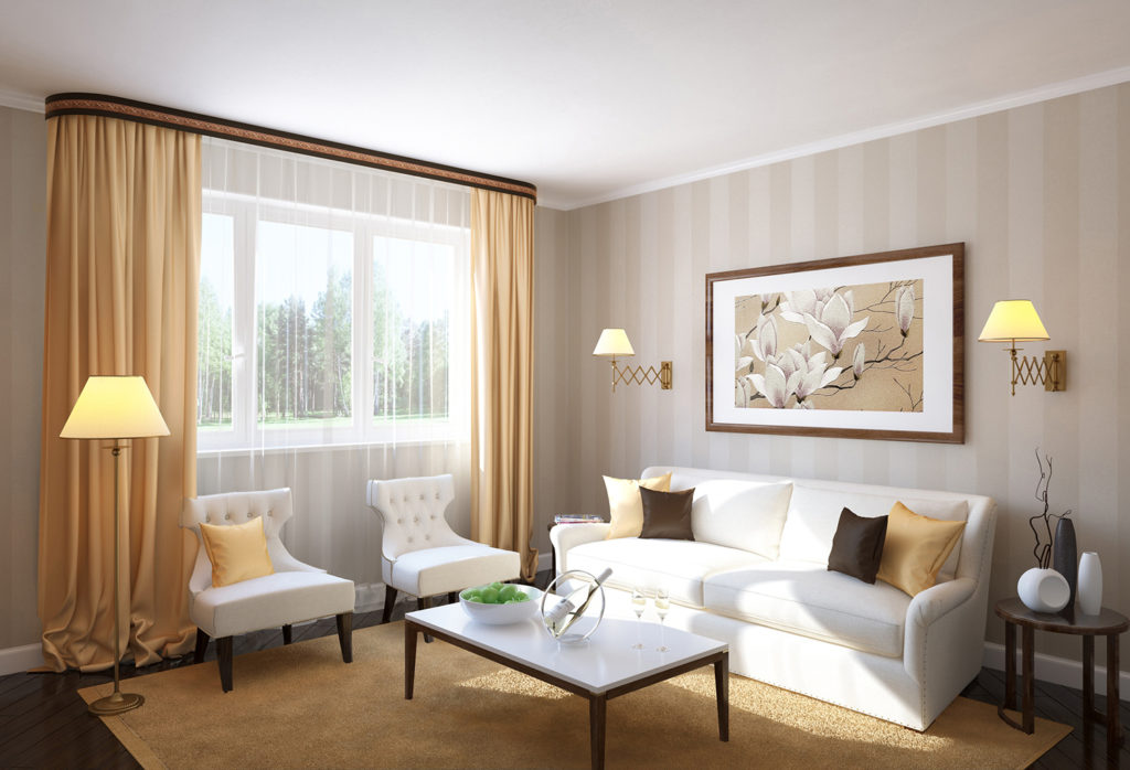 Как выбрать плинтус для потолка: стиль минимализм
