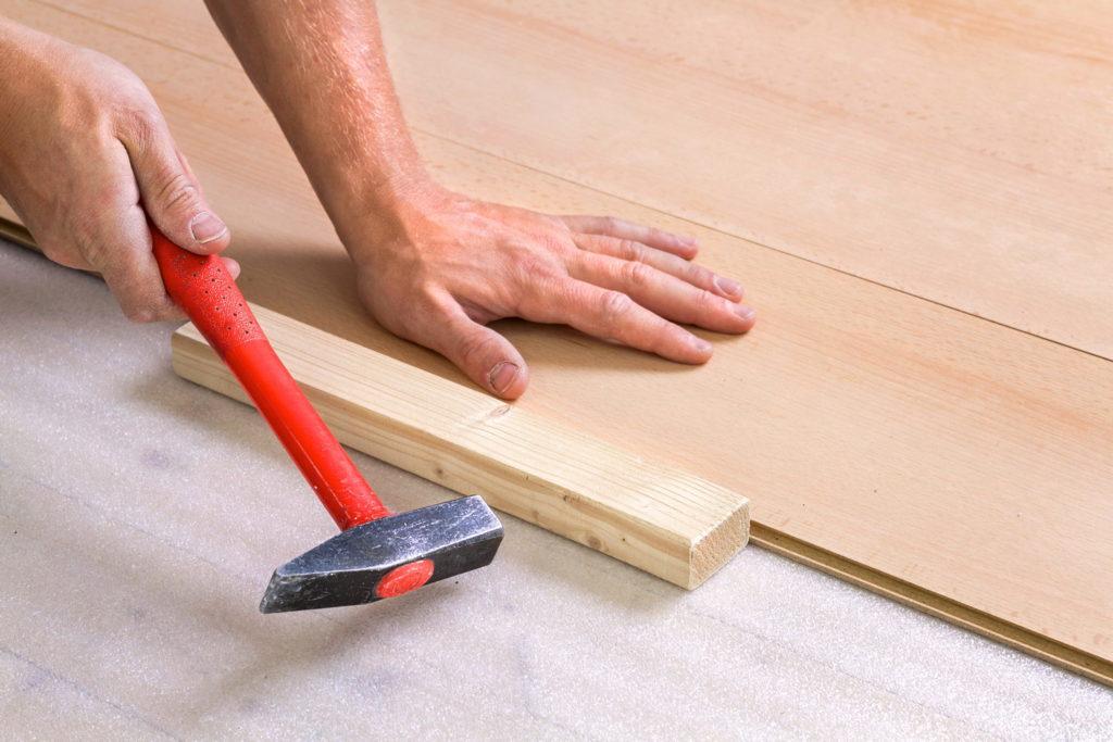 Как уложить деревянные панели