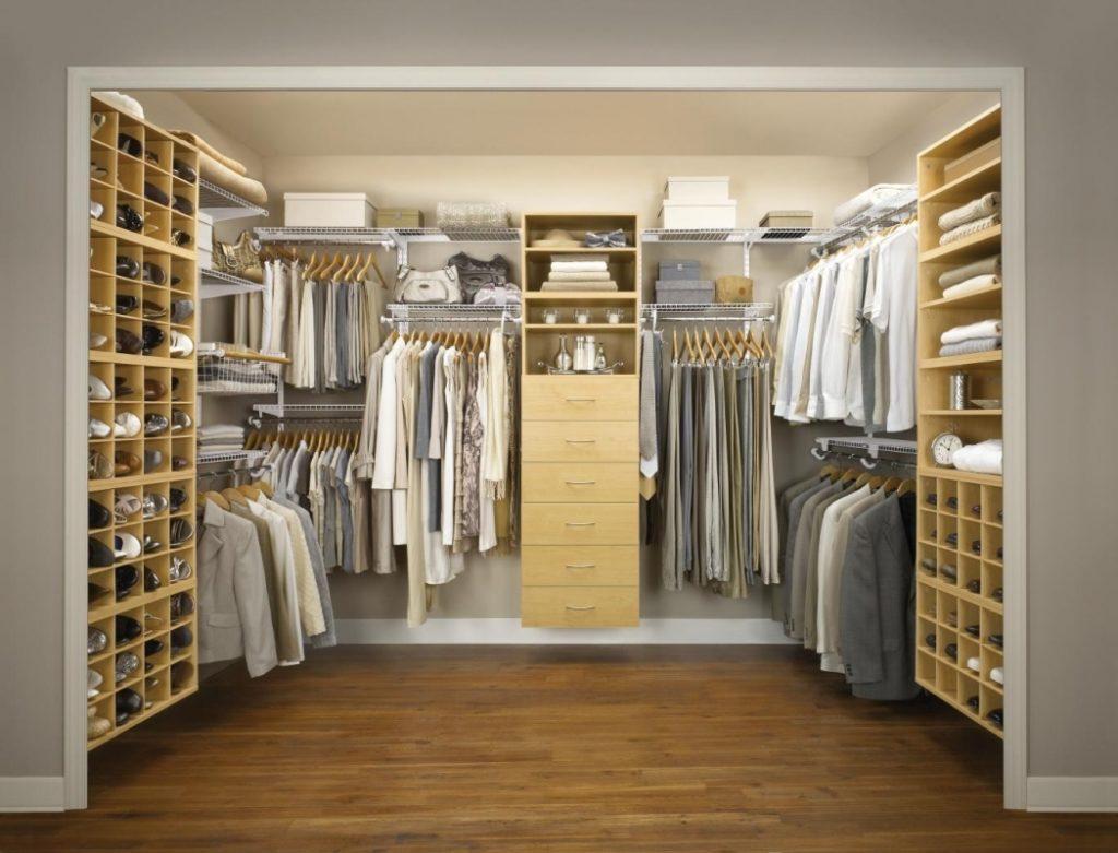 Инструкция по созданию гардеробной