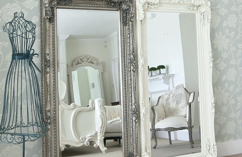 Шебби-шик и зеркала