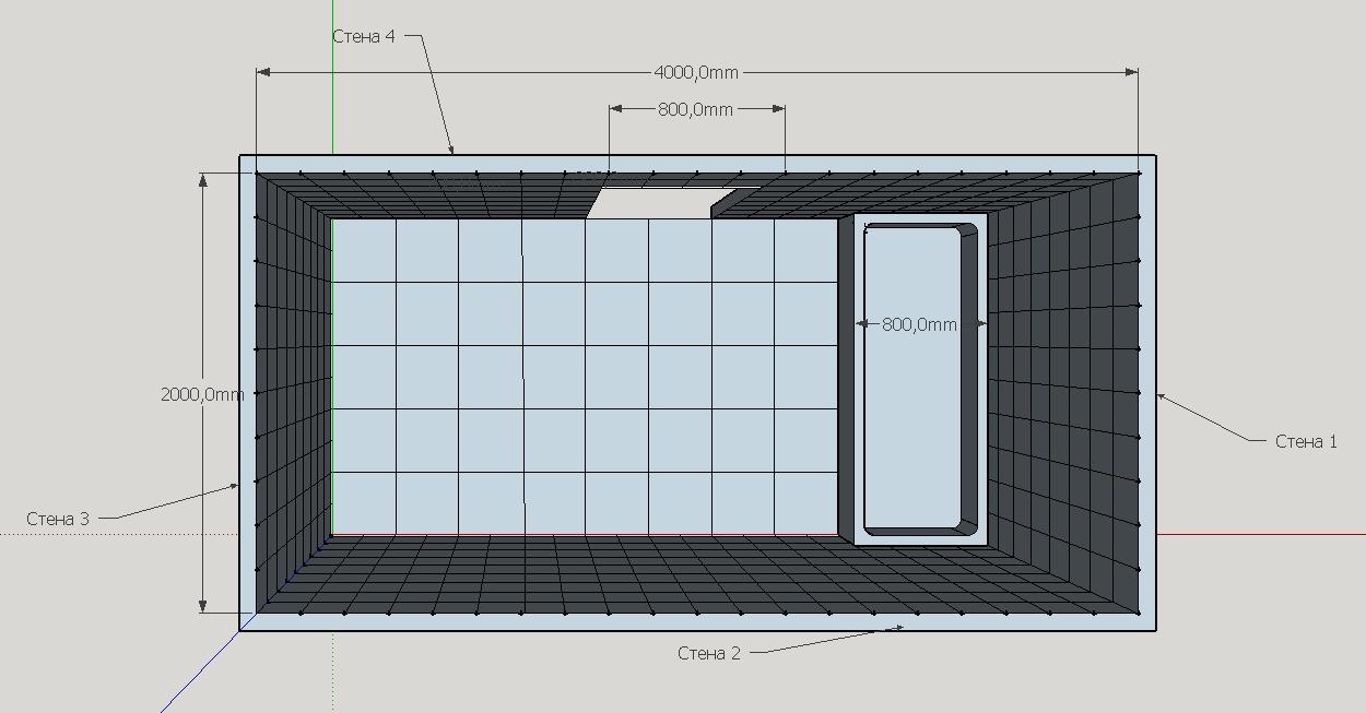 Формула расчета плитки