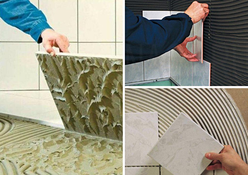 Клей для укладки плитки