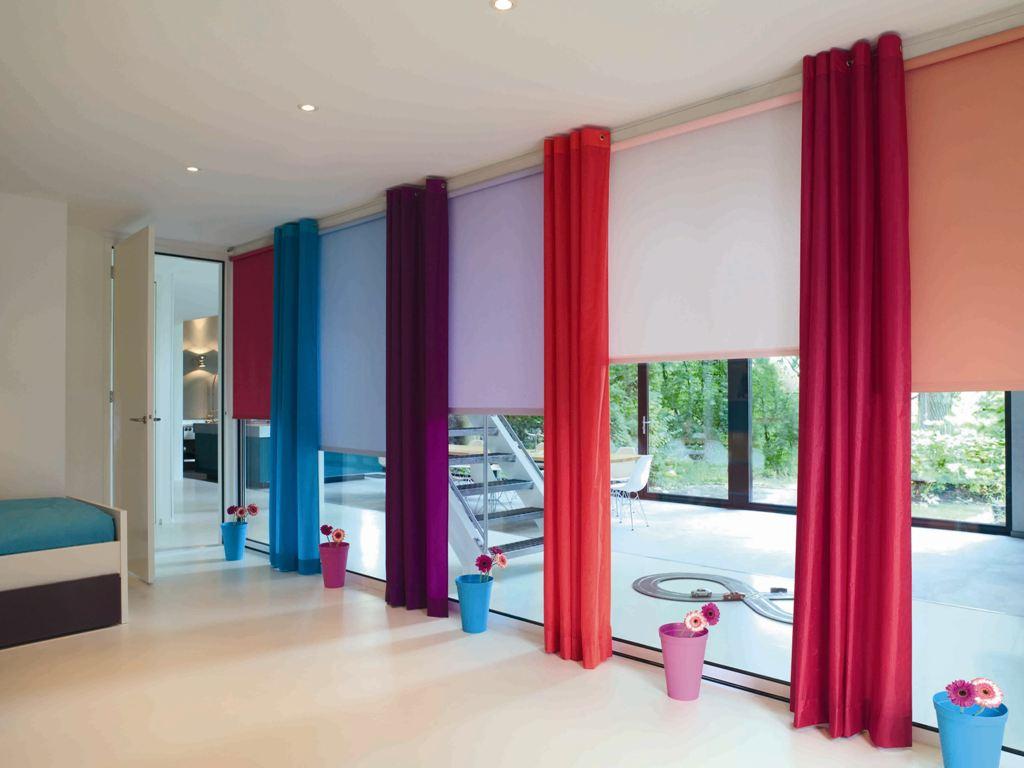 Рулонные шторы: интересные варианты