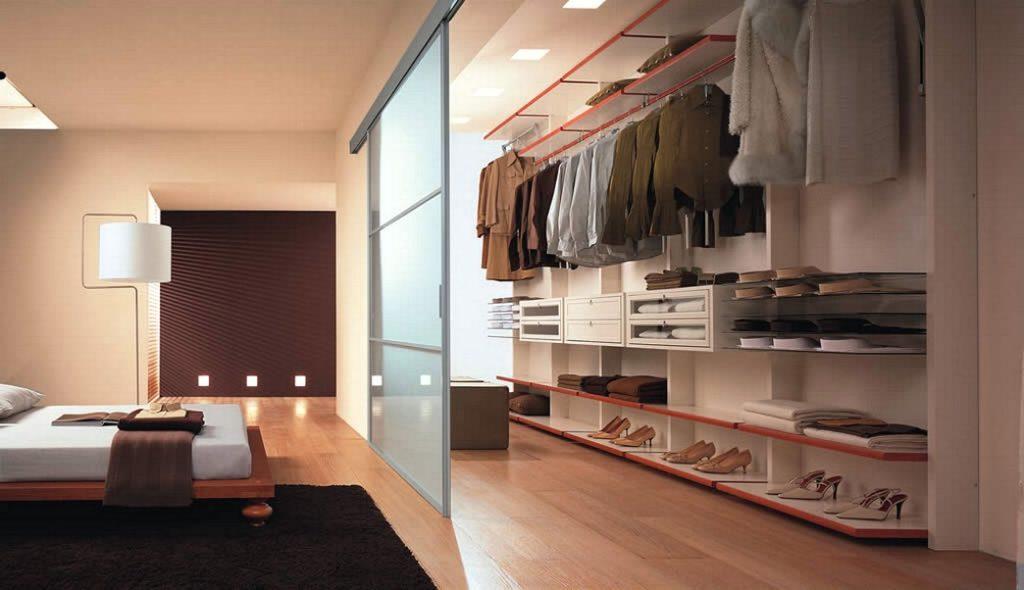Выбор гардеробной в зависимости от типа помещения