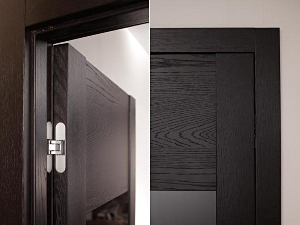 Монтаж дверей со скрытыми петлями