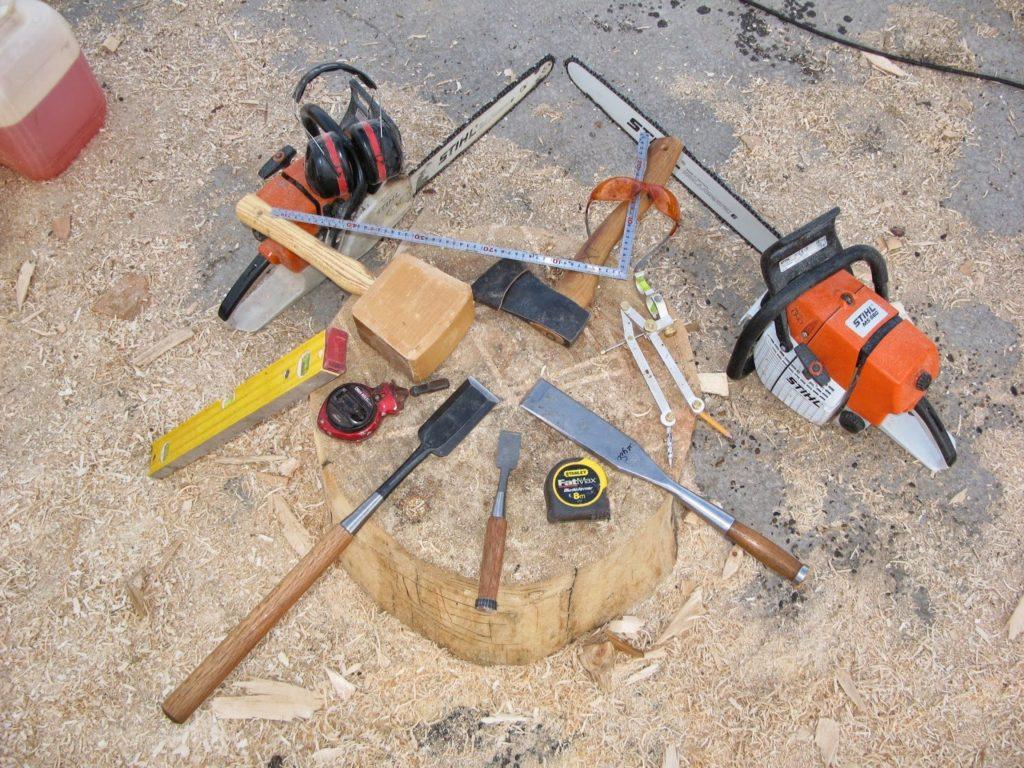 Имитация бруса, отделка фасада, необходимые инструменты
