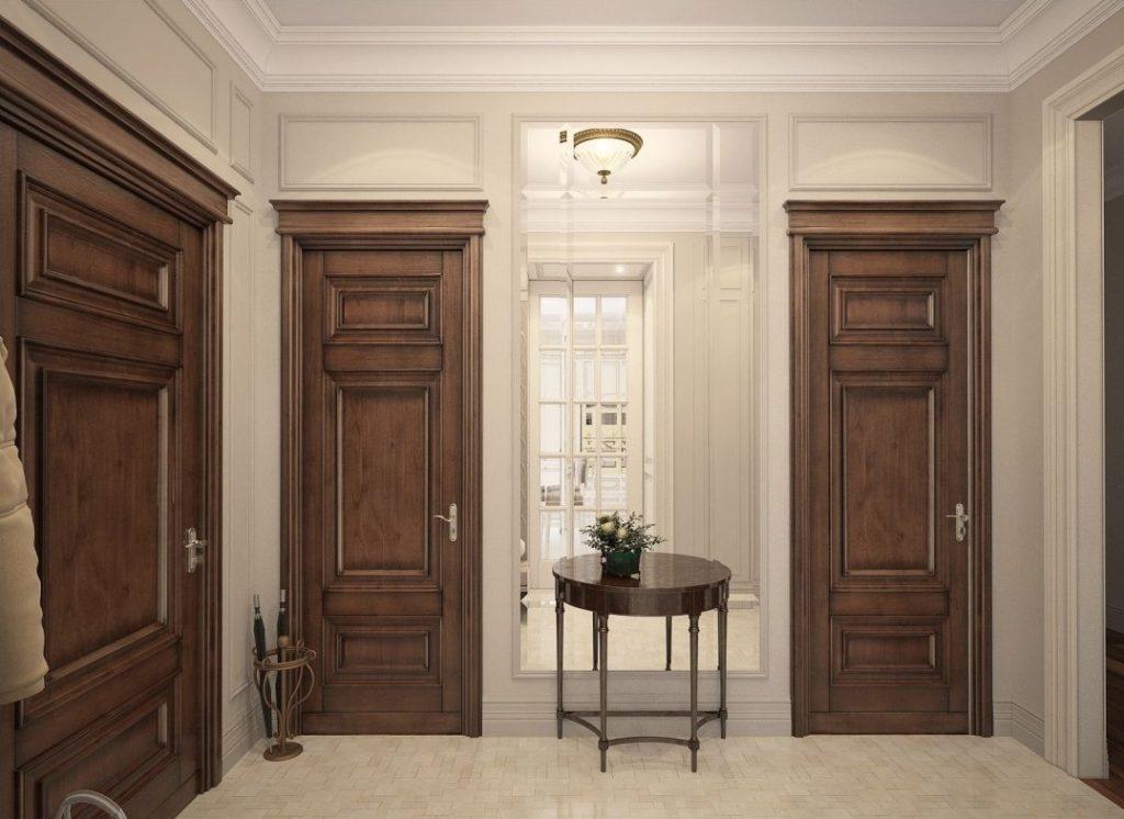 Выбор материала для межкомнатных дверей