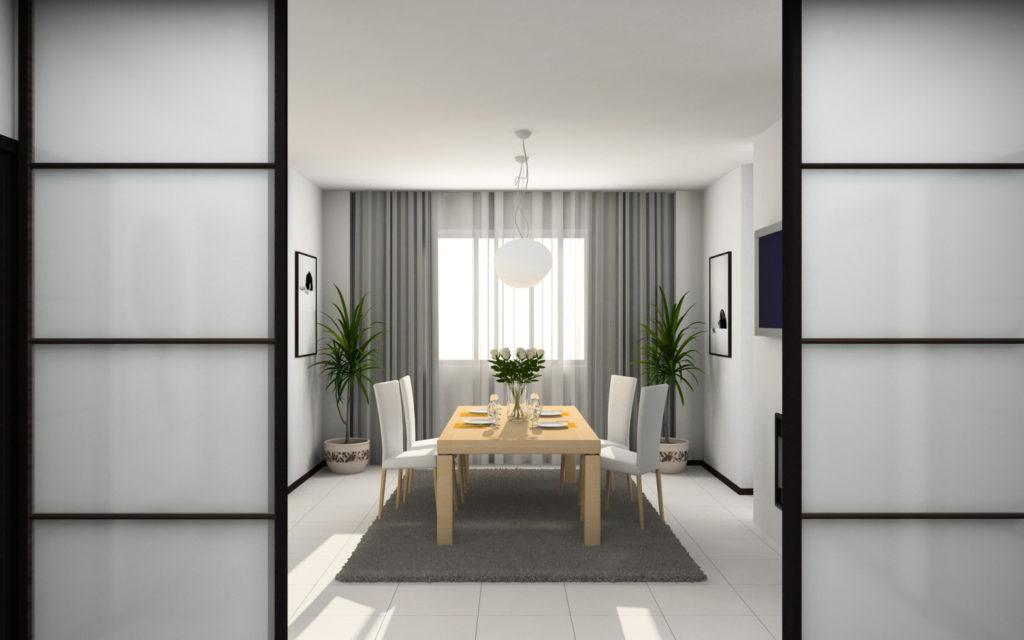 Межкомнатные двери: раздвижная конструкция
