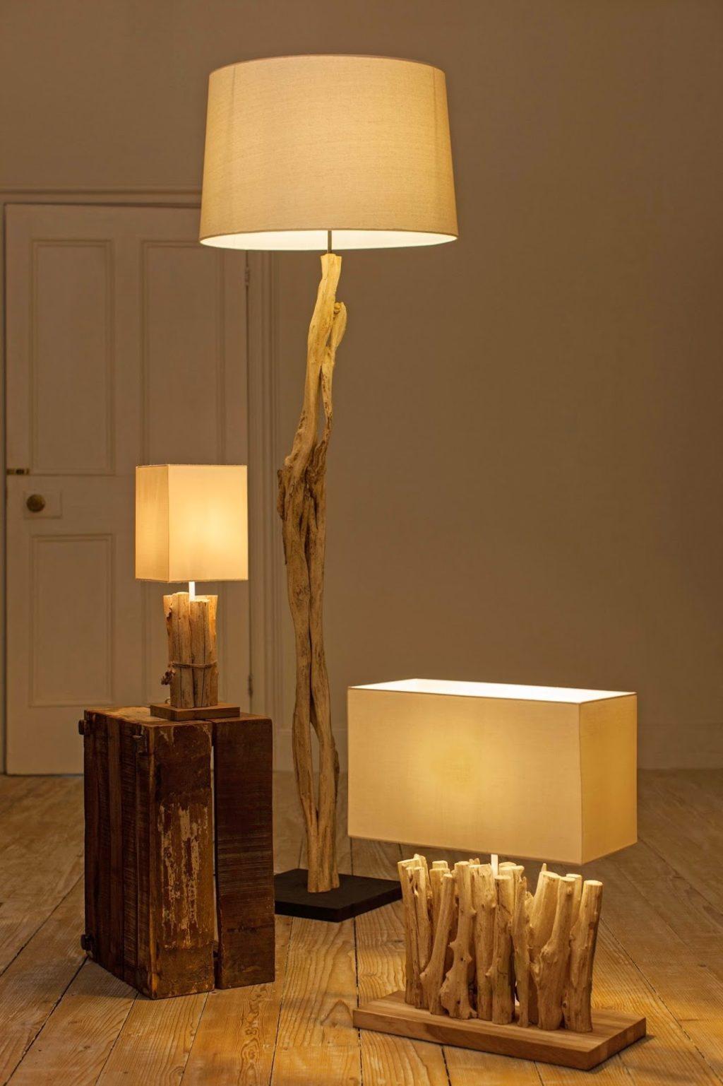 Напольный светильник самостоятельно