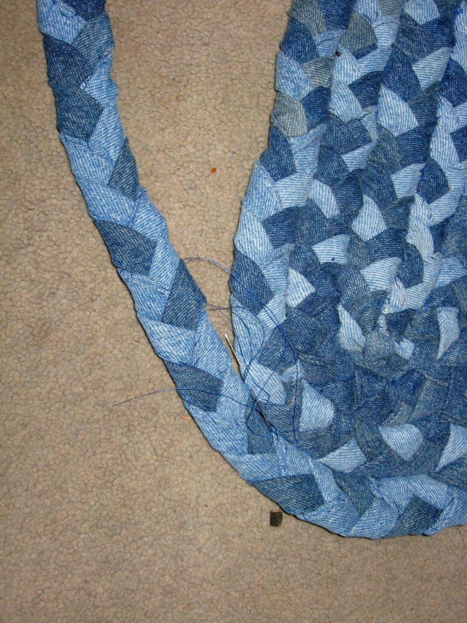 плетение паласа
