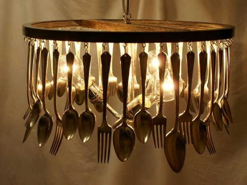 13-4 Декор Люстры Старой Стеклянной Своими Руками