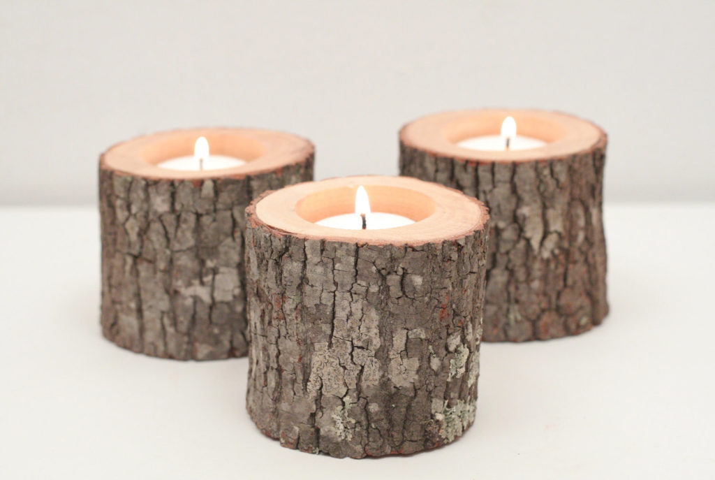 свечи в эко-стиле