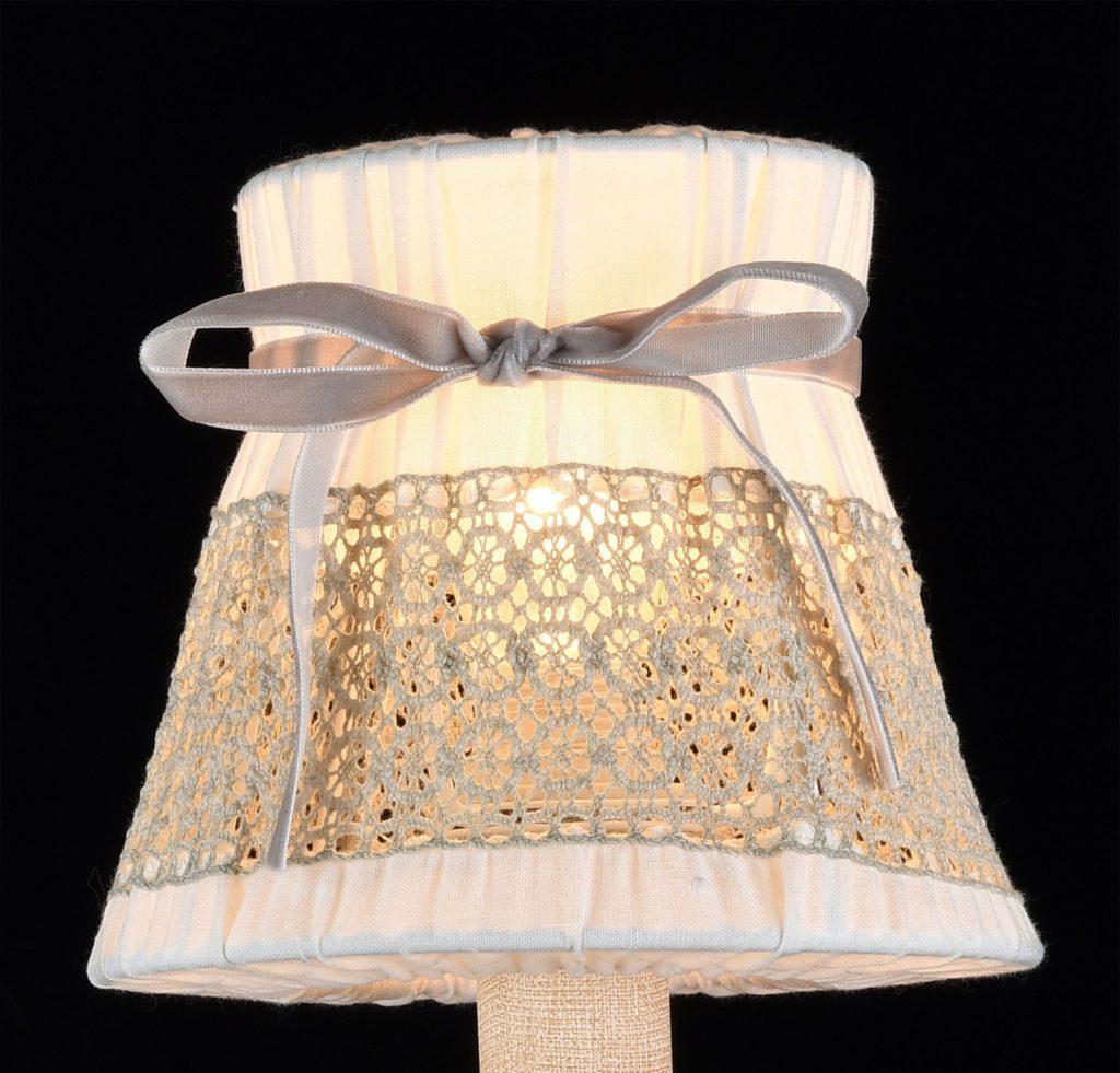 лампа с бантом