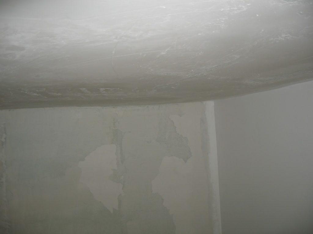 Подготовка потолка к оклейке обоями