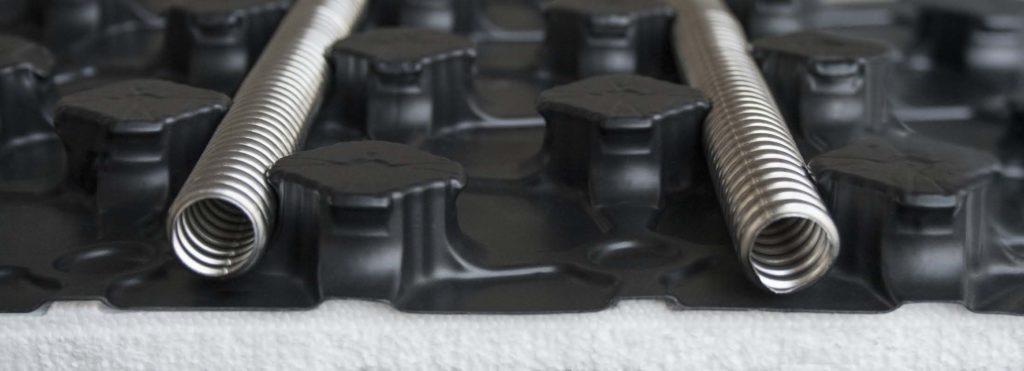Гофрированные трубки из нержавеющей стали
