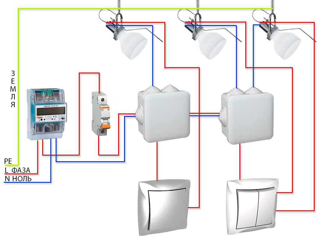 Как сделать проводку в квартире фото 285